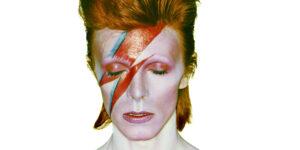 Dawid Bowie fra 'Aladdin Sane' 1973